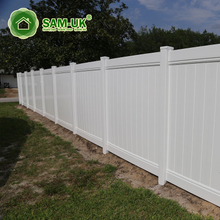 4' x 8' easy install tongue and groove vinyl private fence