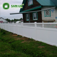 5x8 vinyl yardworks fence panels with lattice top