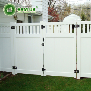 outdoor shadow privacy fence gate kit