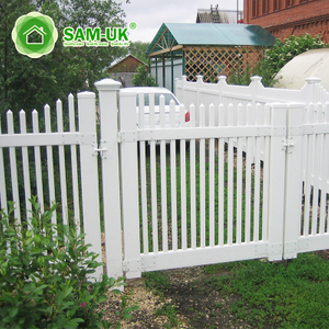 Wide Privacy Picket Fence Gate Latch