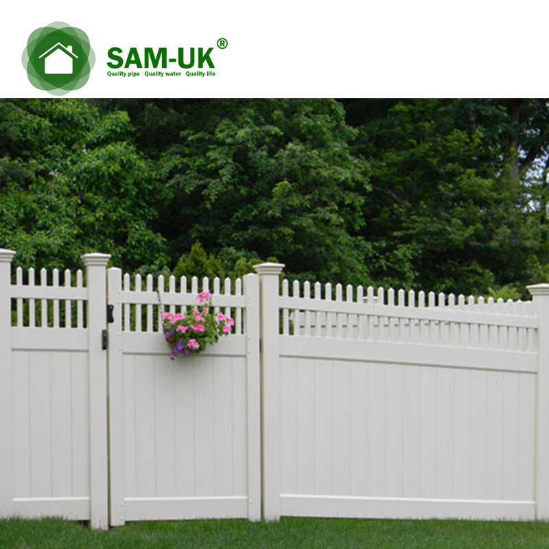 Cheap Pvc Fence With England Fence Post Capfences For Houses