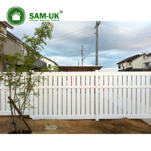 pvc fire resistant fence vinyl lattice fence