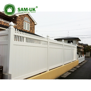 China Vinyl Privacy Fence Vinyl Private Fence Privacy