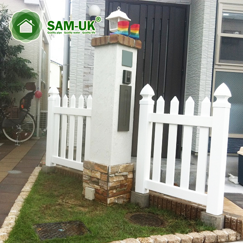 Pvc Vinyl Privacy Fencing Fence With England Fence Post