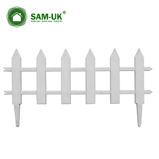 PVC Small Natural Garden Fence