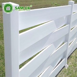 Home Use Decoration Garden Vinyl Fencing Factory Pvc Privacy Fence